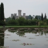 Castello di Valeggio Sul Mincio visto dal Parco di Sigurtà