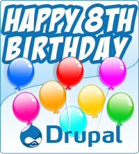 Buon compleanno Drupal!