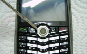 Smontare rotellina BlackBerry