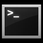 Icona raffigurante un terminale stilizzato