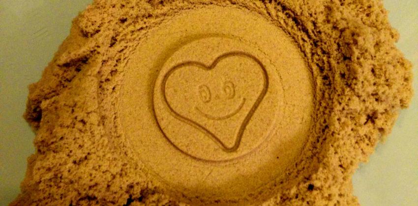 Sabbia cinetica: la ricetta per farla in casa