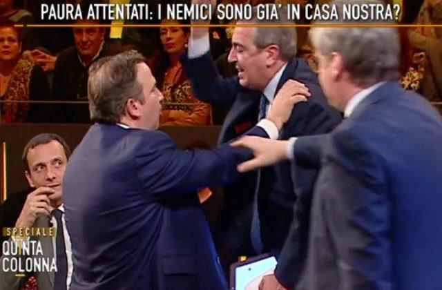 La lite tra Gasparri e Telese: interroghiamoli tutti